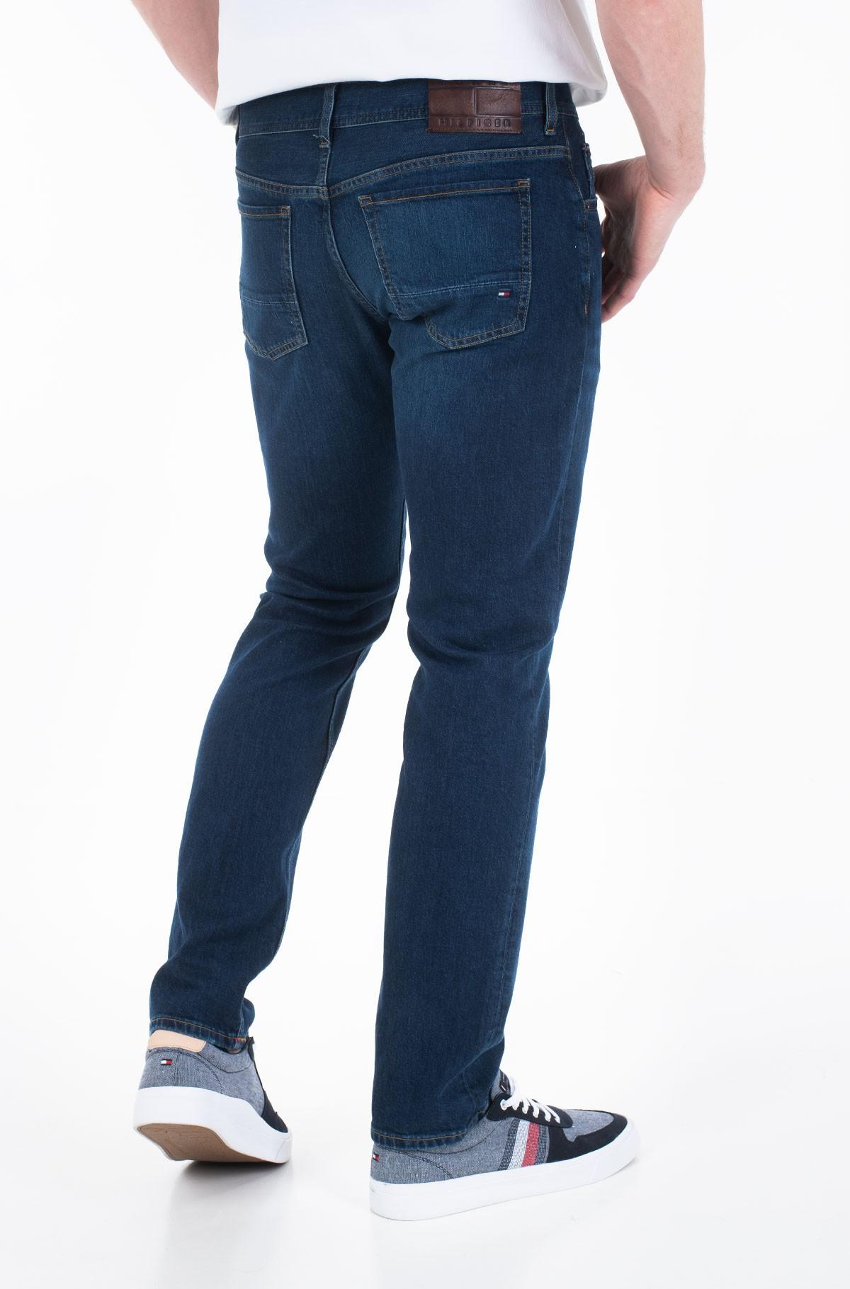 Džinsinės kelnės SLIM BLEECKER STR BOWIE BLUE-full-2