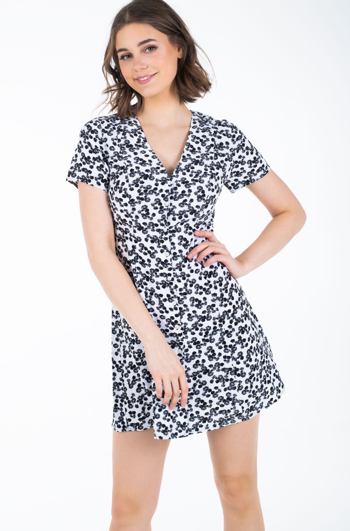 Suknelė FLORAL SS DRESS-full-2