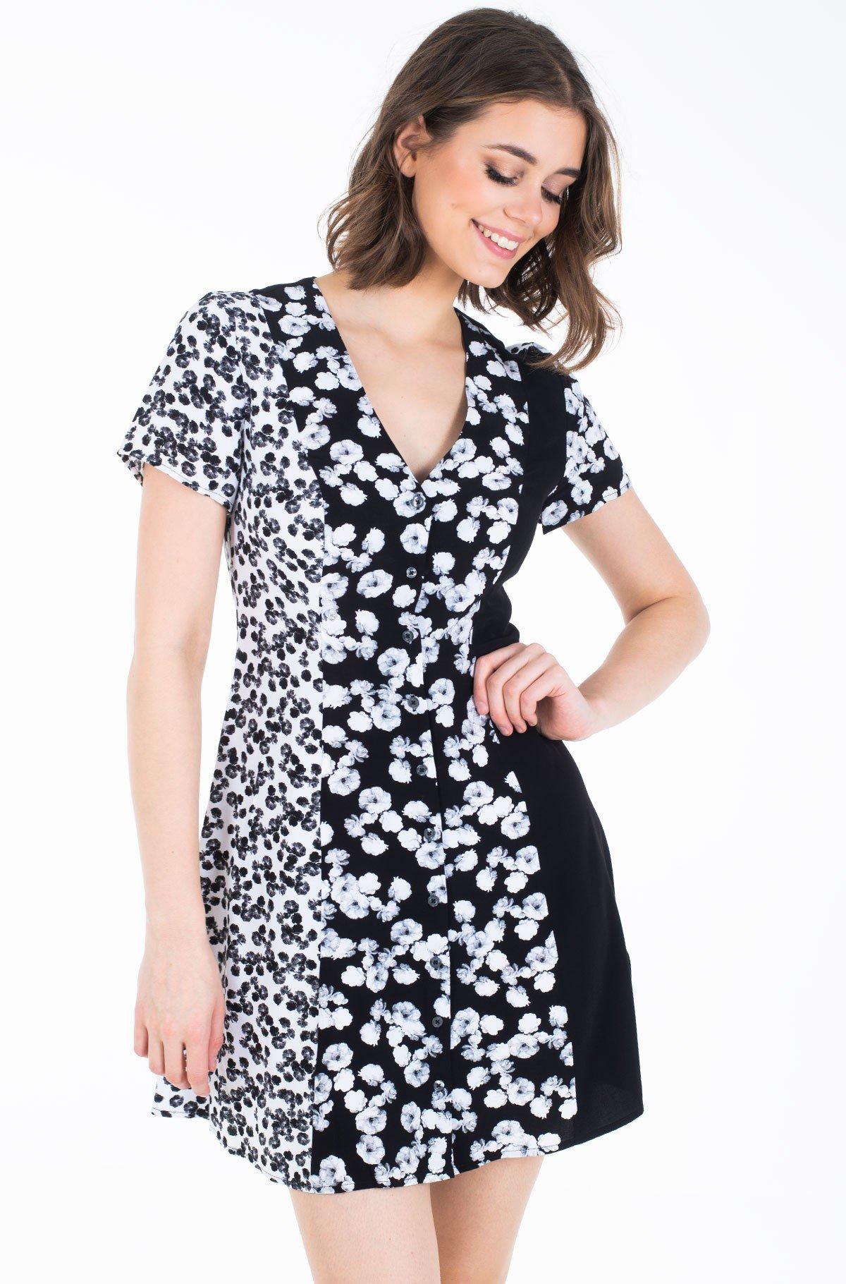 Suknelė FLORAL BLOCKING SS DRESS-full-1