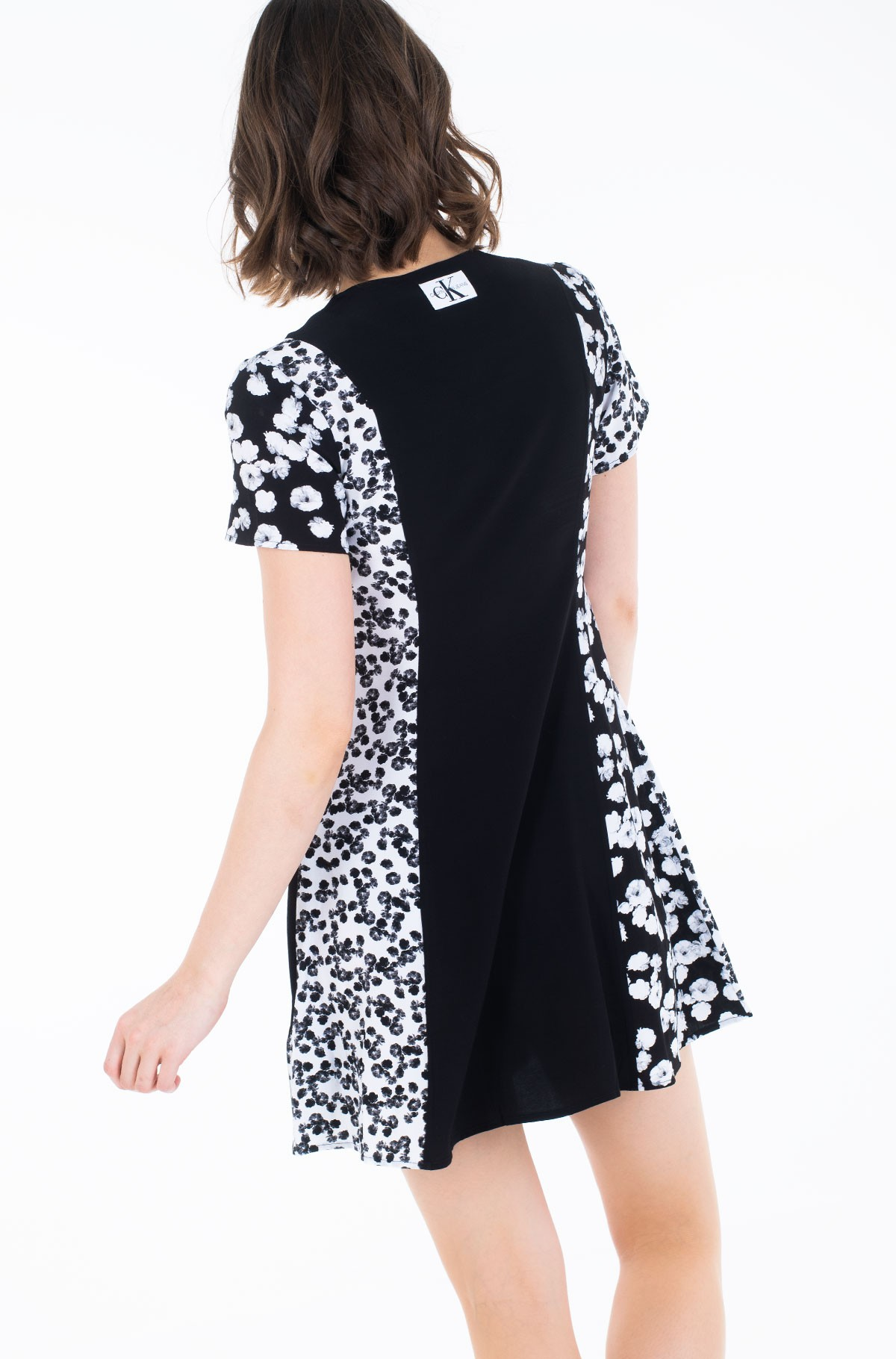 Suknelė FLORAL BLOCKING SS DRESS-full-2