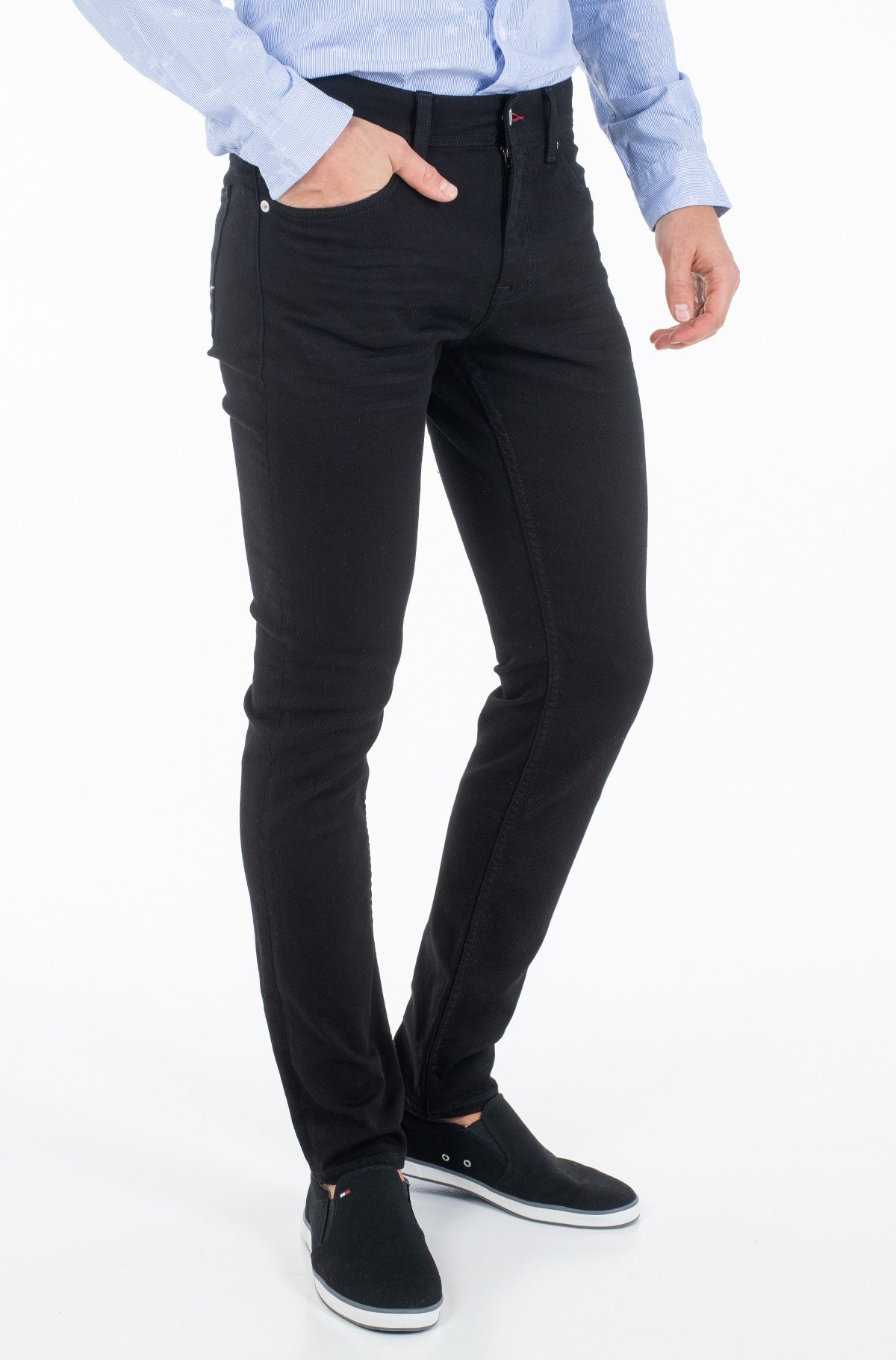Jeans SLIM BLEECKER SSTR NAUVO BLACK-full-1