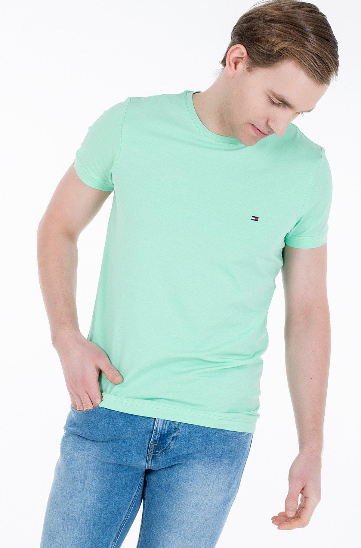 Marškinėliai STRETCH SLIM FIT TEE-full-1