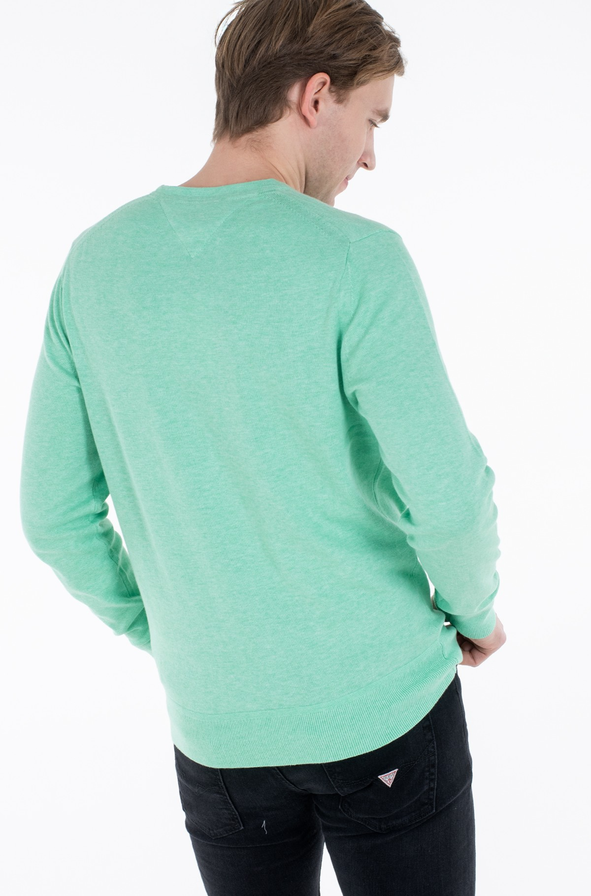 Kampsun ORGANIC COTTON SILK CREW NECK-full-3
