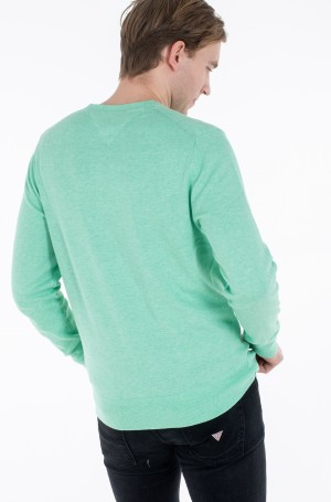 Kampsun ORGANIC COTTON SILK CREW NECK-3
