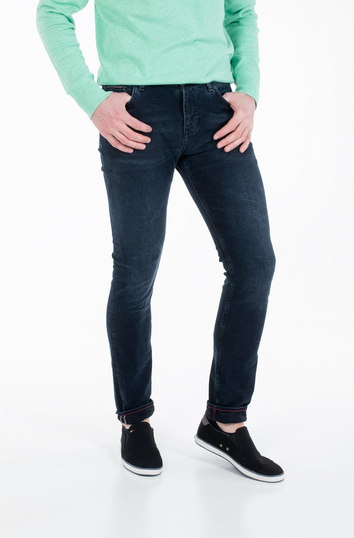 Džinsinės kelnės EXTRA SLIM LAYTON STR BURKE BLUE-full-2
