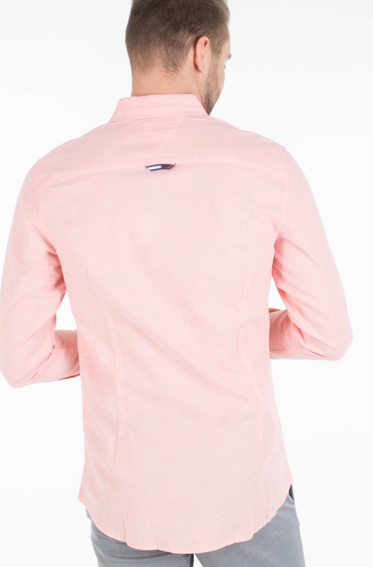 Triiksärk TJM STRETCH OXFORD SHIRT	-full-2
