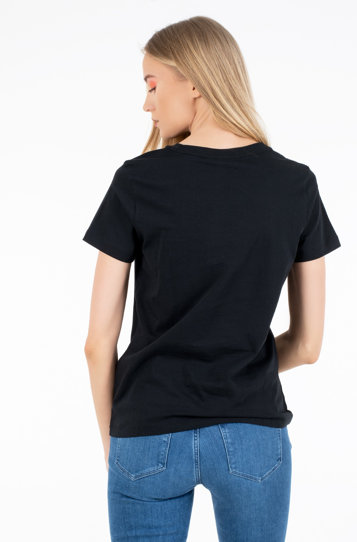 T-särk NEW TH ESS HILFIGER C-NK TEE SS-full-2