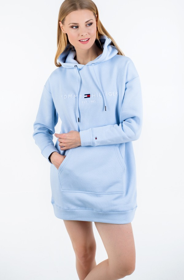 TH ESS HOODED DRESS LS
