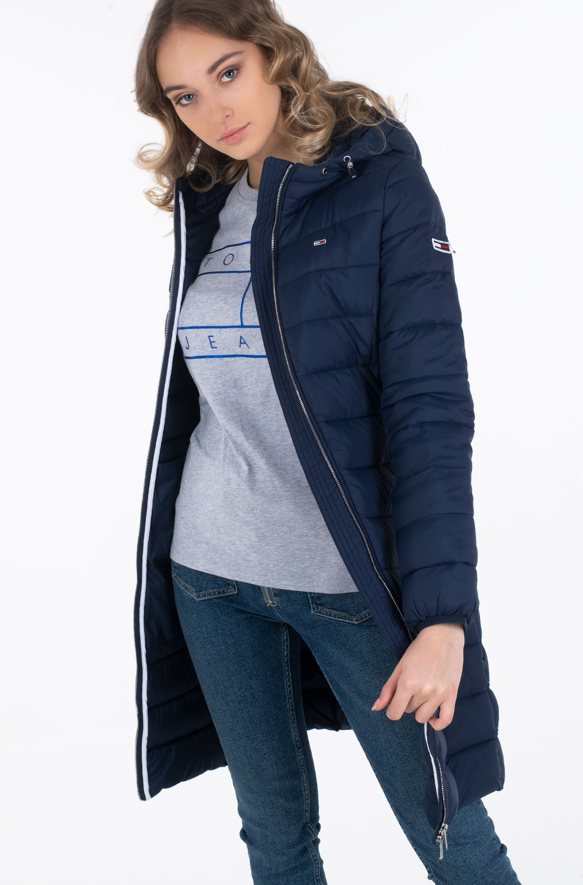 Paltas TJW BASIC QUILTED HOODED COAT	-full-2