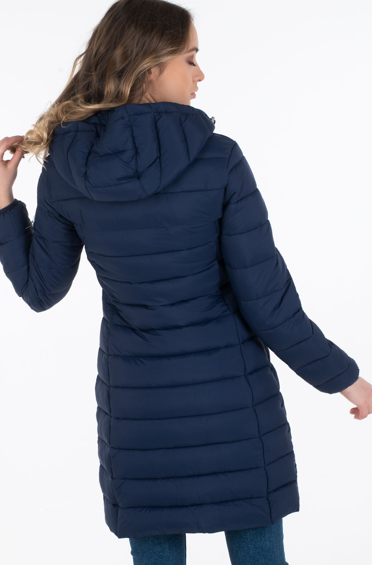 Paltas TJW BASIC QUILTED HOODED COAT	-full-3