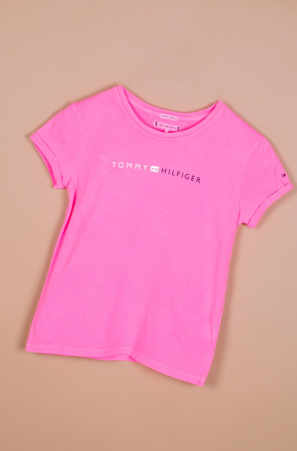 Vaikiški marškinėliai trumpomis rankovėmis ESSENTIAL TOMMY ROLL UP TEE S/S-full-1
