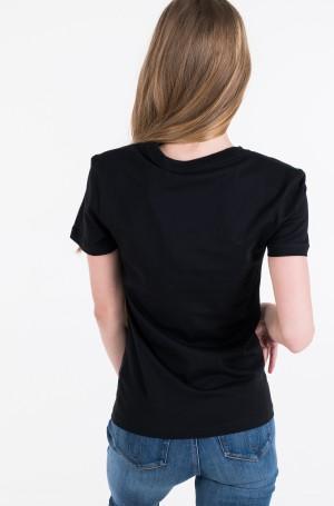 Marškinėliai METALLIC MESH CK SLIM TEE-3