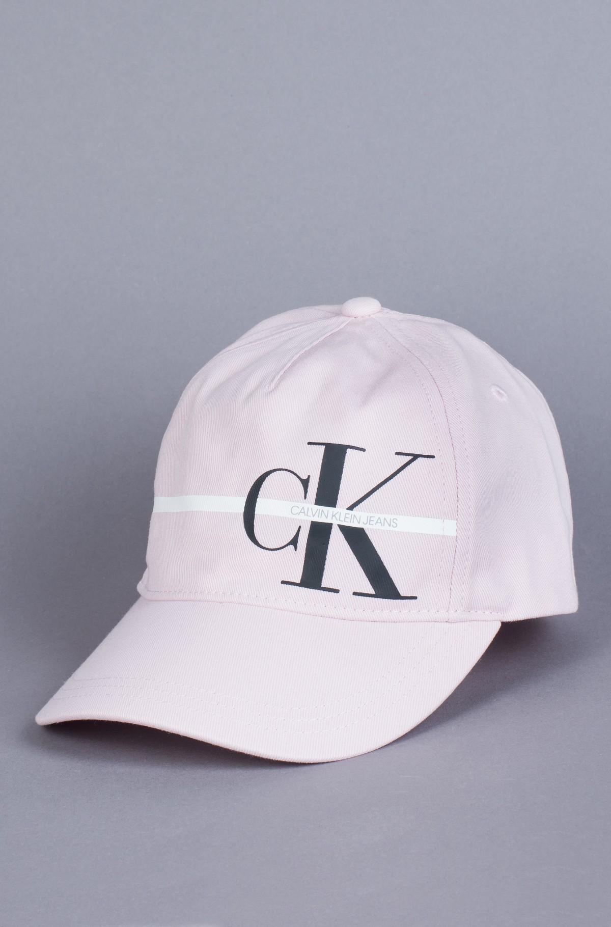 Nokamüts MONOGRAM STRIPE BB CAP-full-1