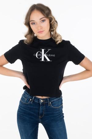 Marškinėliai MONOGRAM MODERN STRAIGHT CROP-1