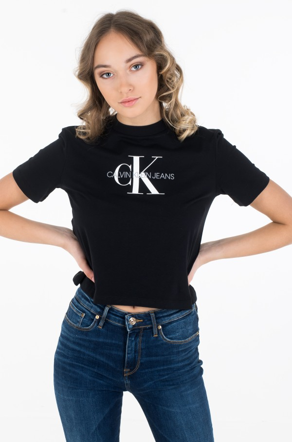 MONOGRAM MODERN STRAIGHT CROP