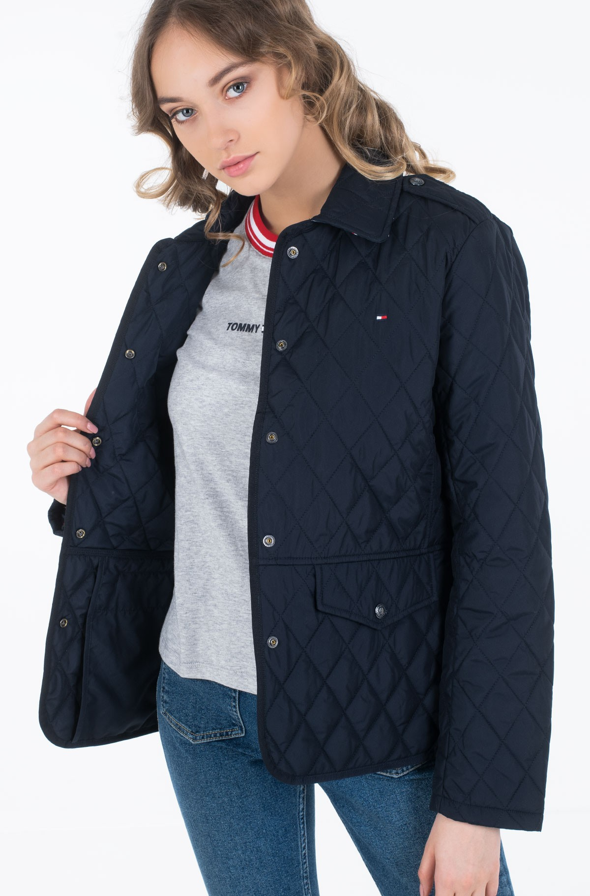 Striukė TH ESS QUILTED JACKET-full-1