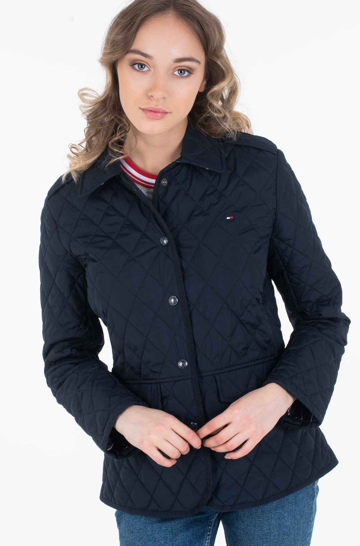Striukė TH ESS QUILTED JACKET-full-2