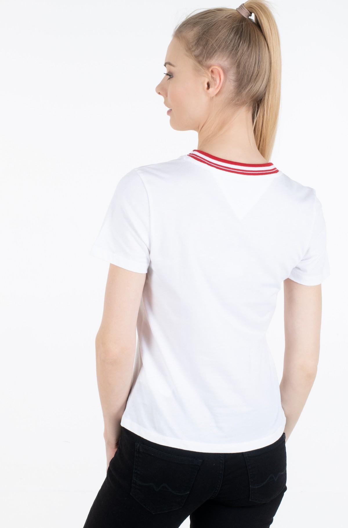 Marškinėliai TJW CONTRAST RIB LOGO TEE-full-2