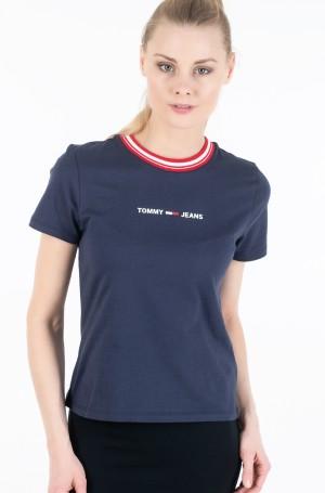 Marškinėliai TJW CONTRAST RIB LOGO TEE-2