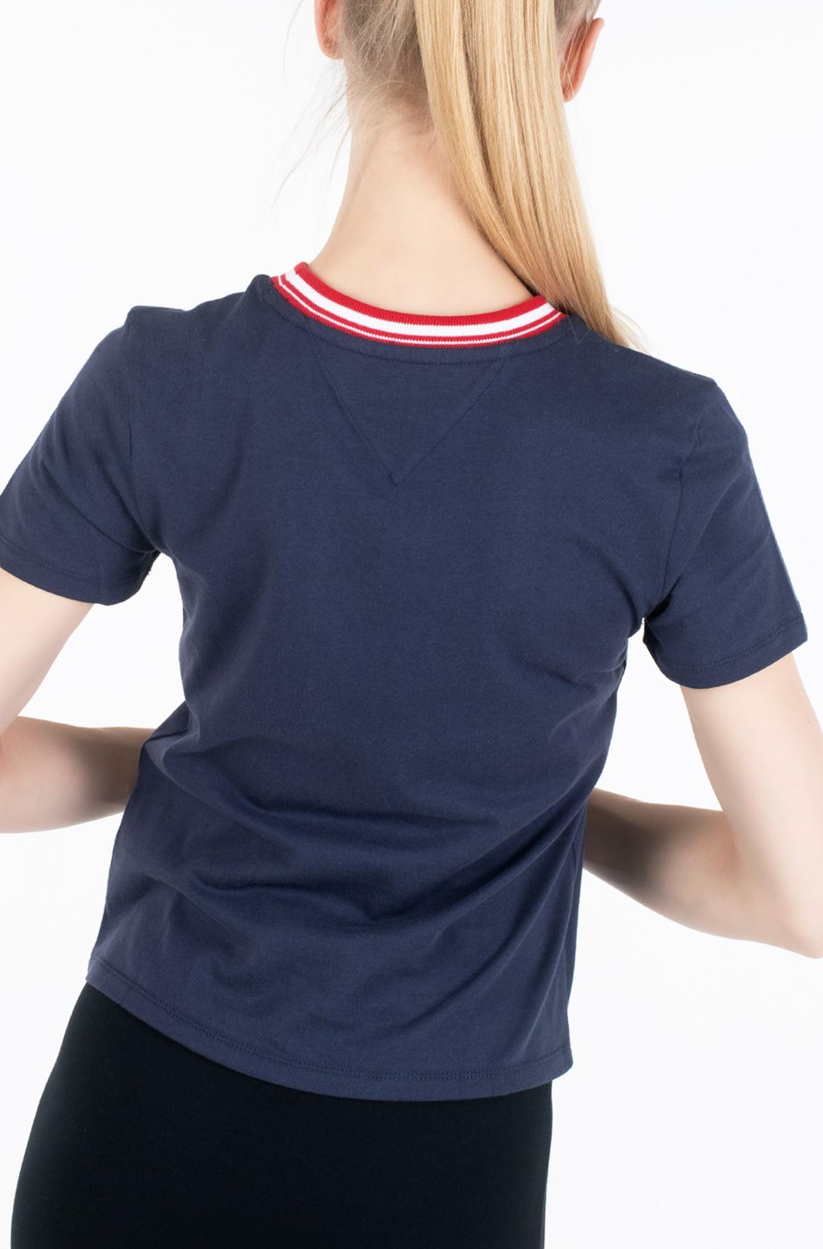 Marškinėliai TJW CONTRAST RIB LOGO TEE-full-3