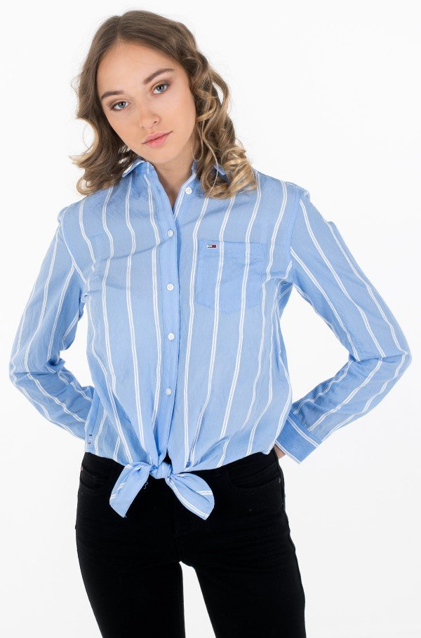 TJW FRONT KNOT SHIRT