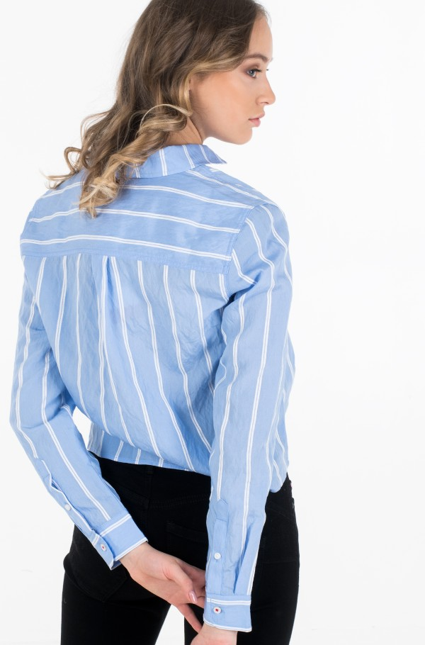 TJW FRONT KNOT SHIRT-hover