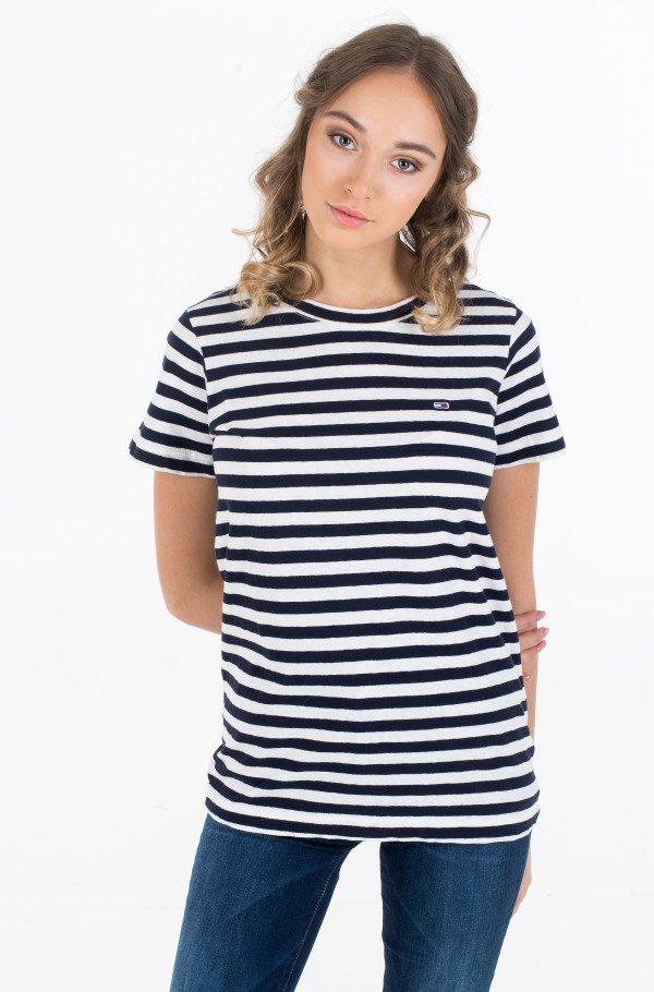 TJW TEXTURED STRIPE TEE