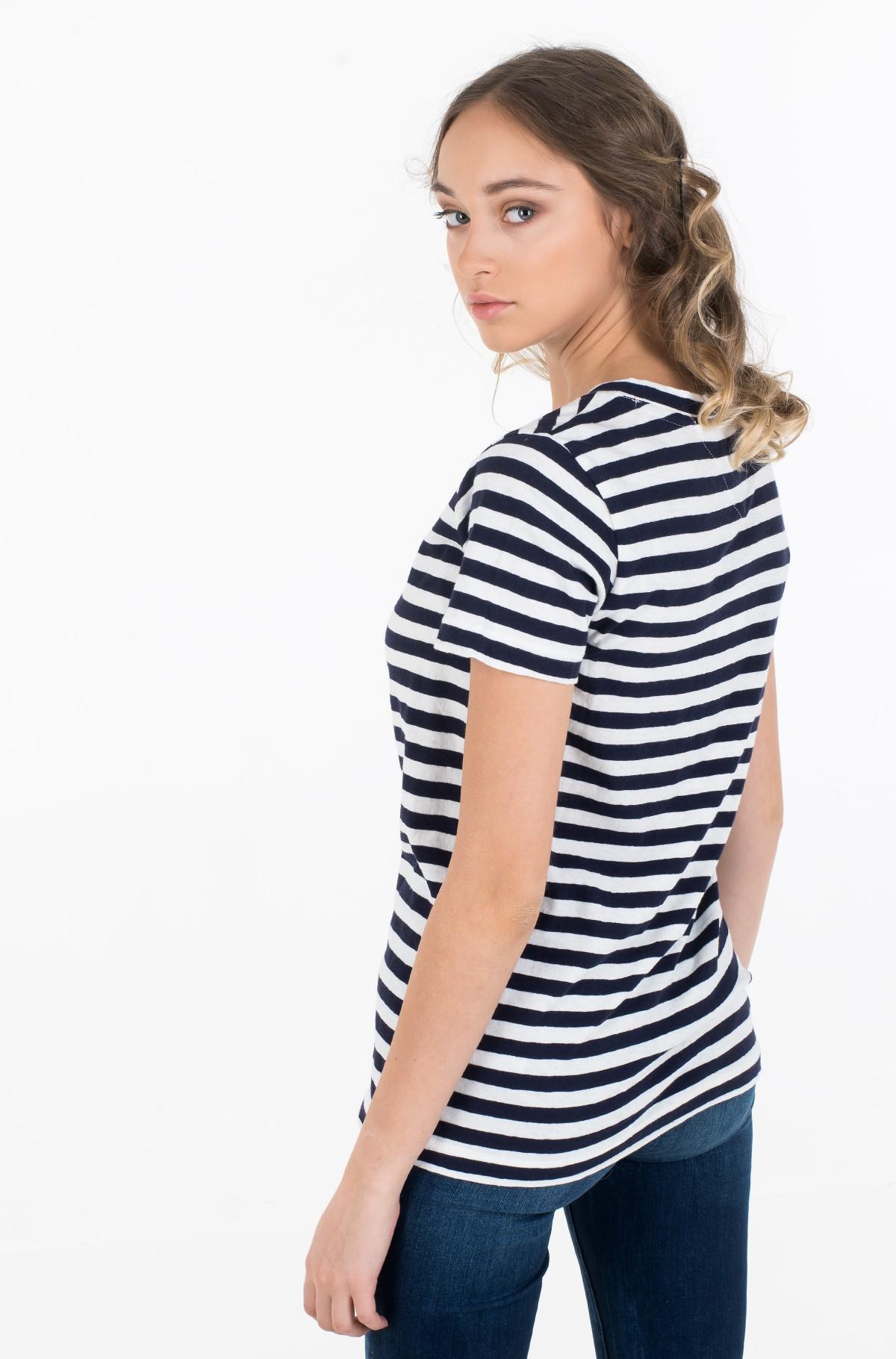 Marškinėliai TJW TEXTURED STRIPE TEE-full-2