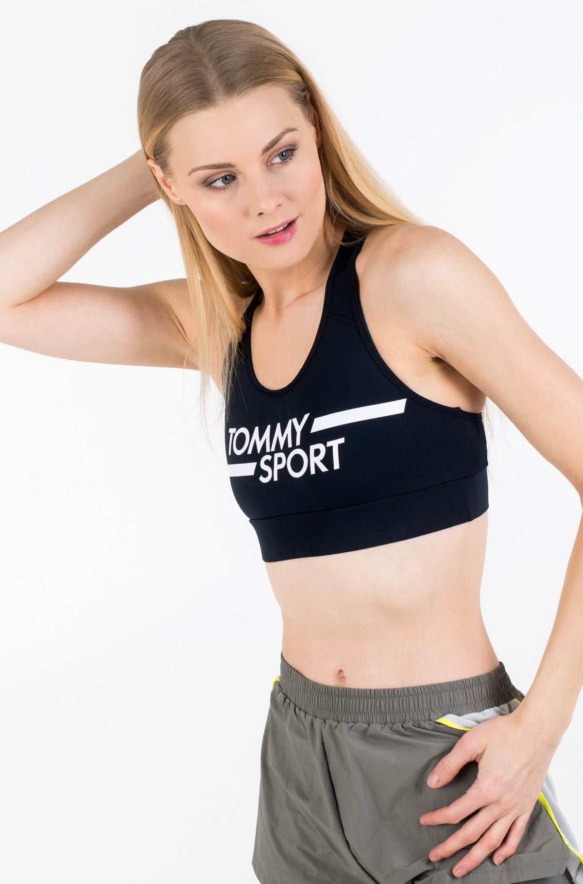 Sports top MID SUPPORT BRA LOGO-full-2
