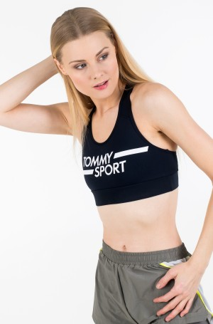 Sports top MID SUPPORT BRA LOGO-2