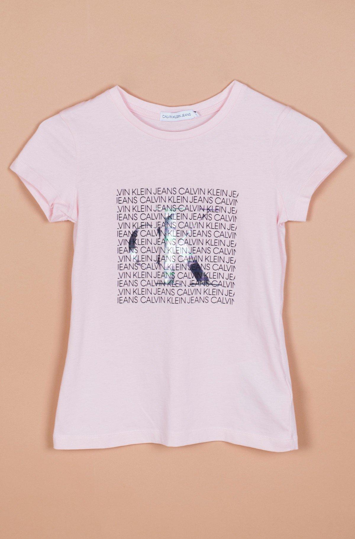 Vaikiški marškinėliai trumpomis rankovėmis IRIDESCENT LOGO SS T-SHIRT-full-1