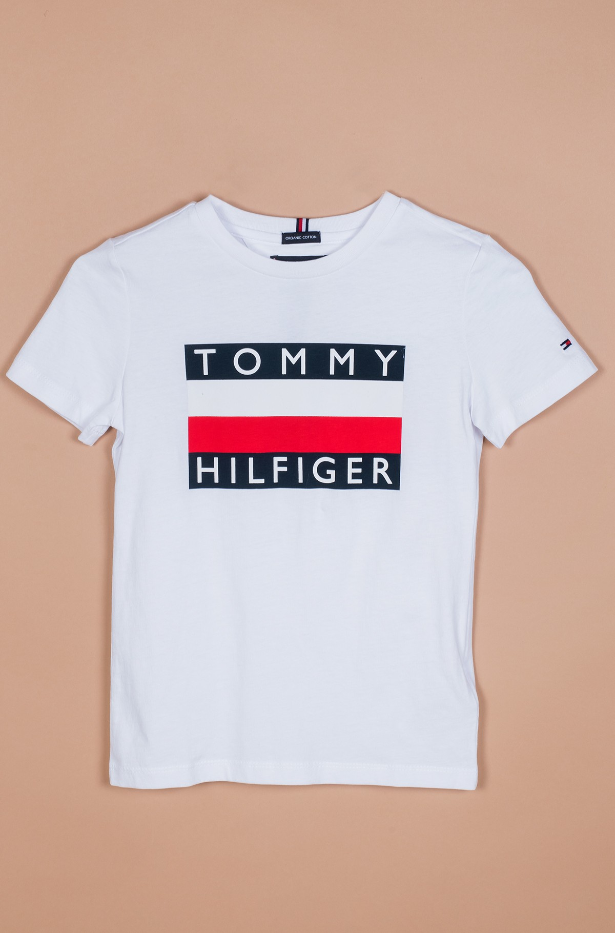Vaikiški marškinėliai trumpomis rankovėmis ESSENTIAL HILFIGER TEE S/S-full-1