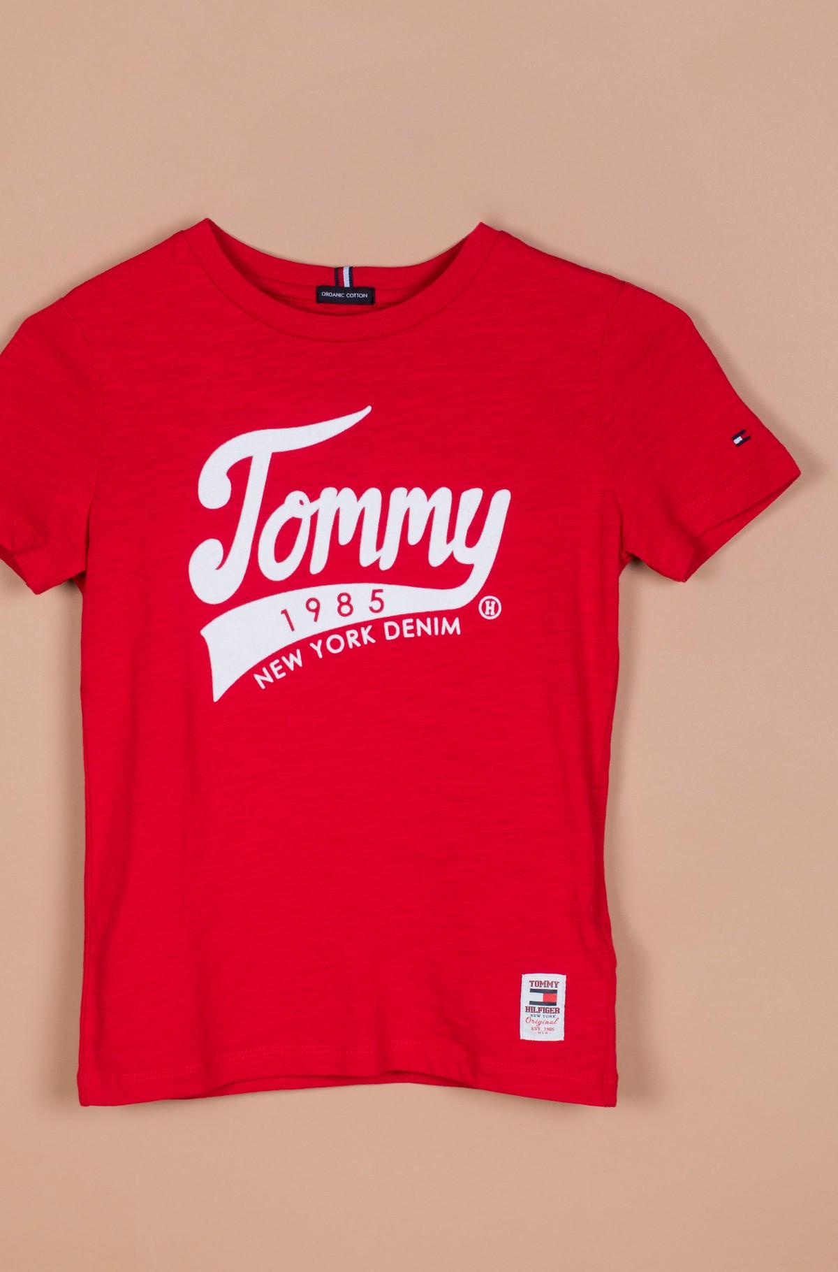 Vaikiški marškinėliai trumpomis rankovėmis TOMMY 1985 TEE S/S-full-1