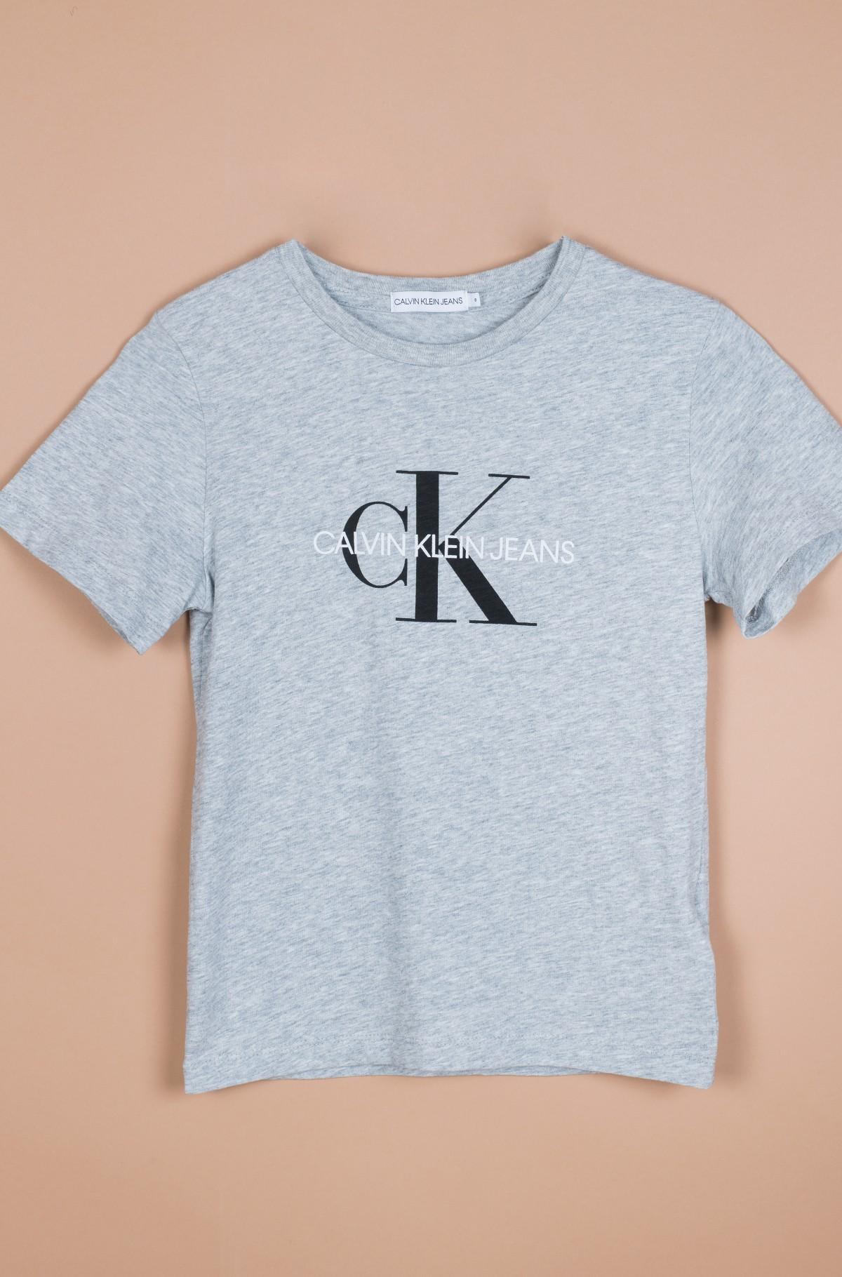Vaikiški marškinėliai trumpomis rankovėmis MONOGRAM LOGO T-SHIRT-full-2