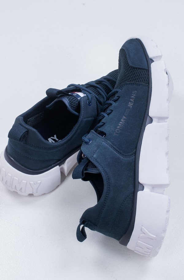 CHUNKY LACE UP SHOE-hover