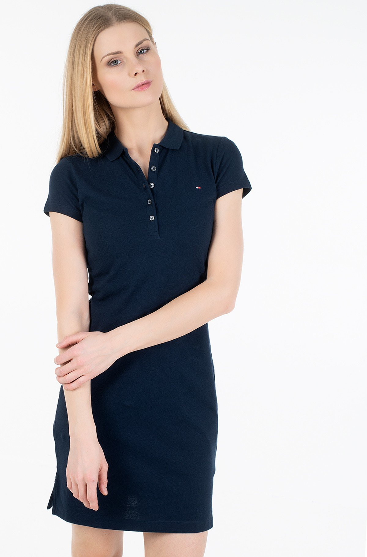 Polo suknelė HERITAGE SLIM POLO DRESS-full-1