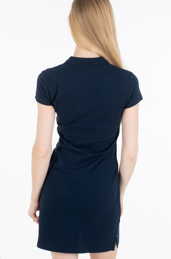 HERITAGE SLIM POLO DRESS-hover