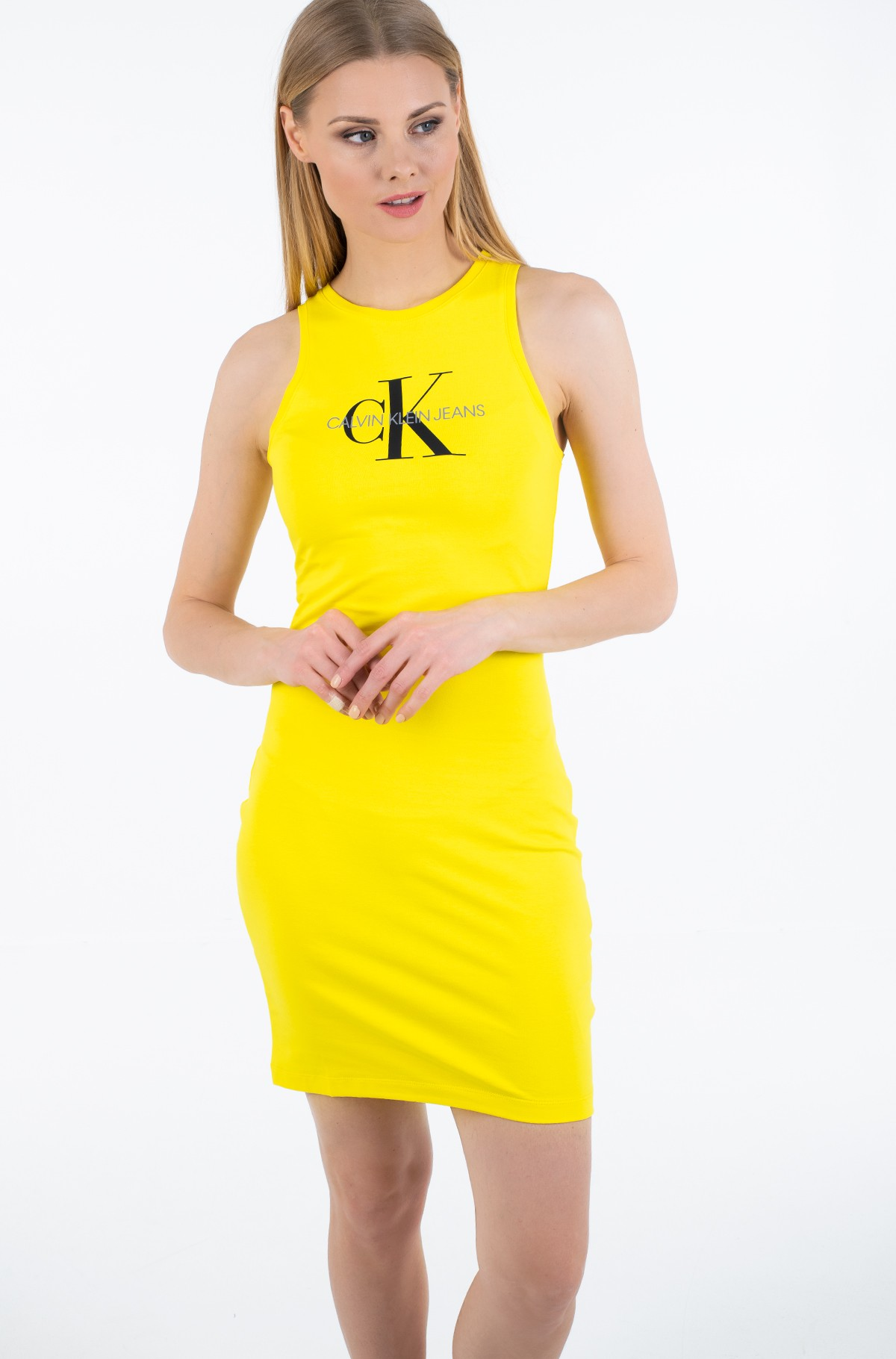 Suknelė MONOGRAM STRETCH TANK DRESS-full-1