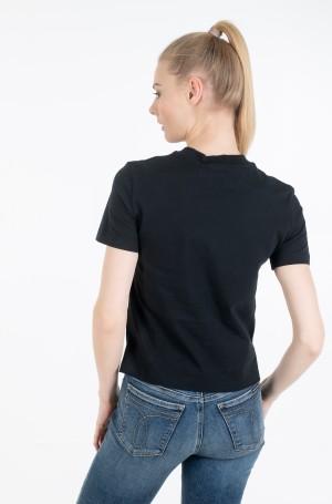 Marškinėliai CK ROUND LOGO STRAIGHT TEE-2