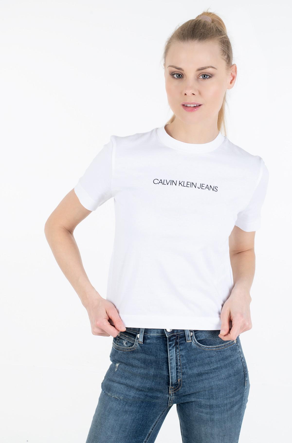 Marškinėliai SHRUNKEN INSTITUTIONAL LOGO TEE-full-1