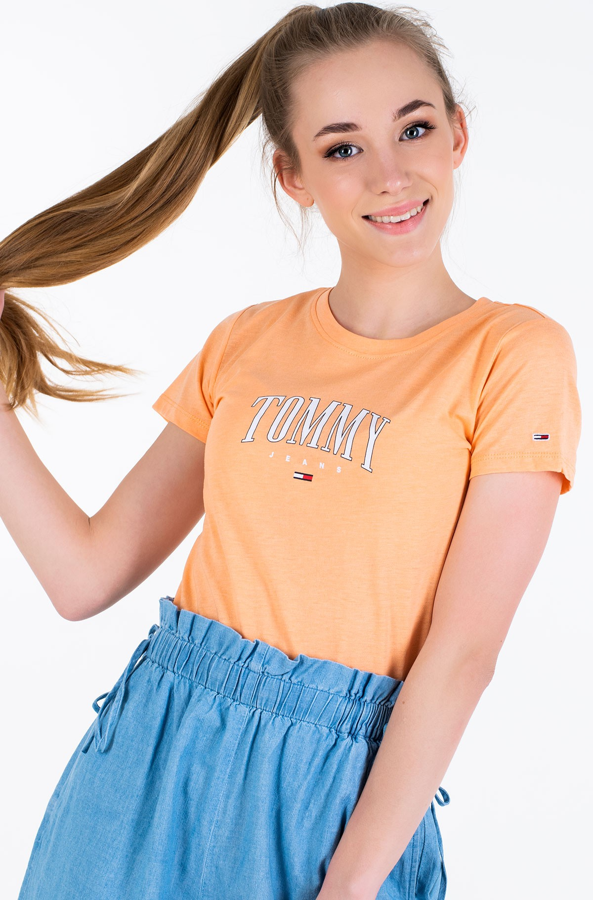 Marškinėliai TJW TOMMY SCRIPT TEE-full-1