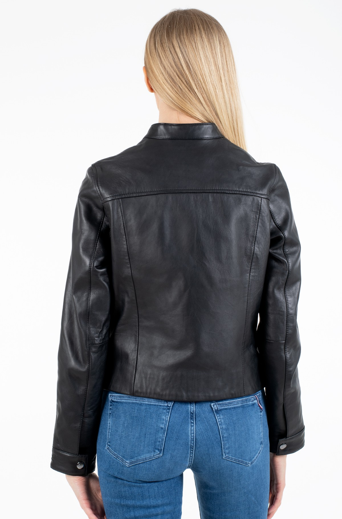 Odinė striukė DAISY LEATHER JACKET-full-3
