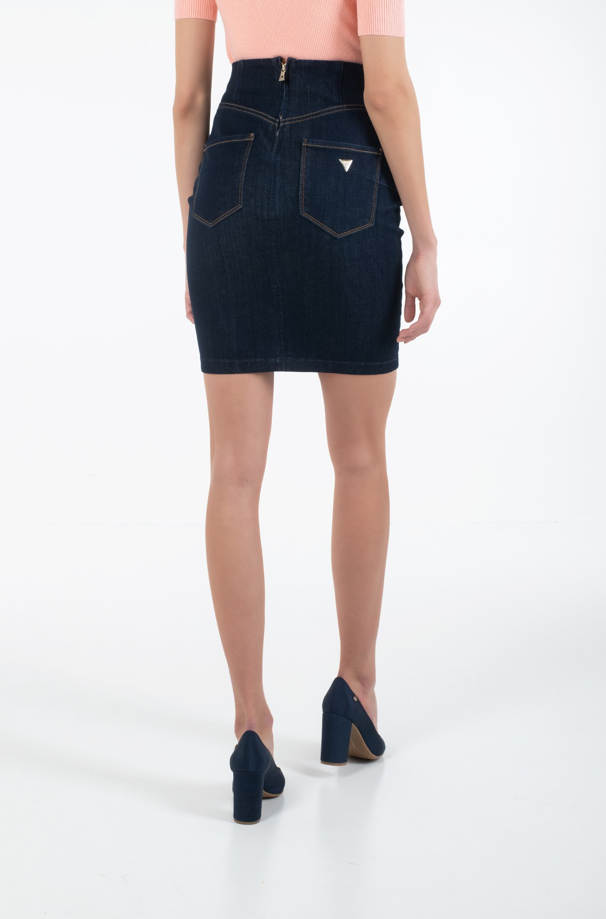 Denim skirt  W01D90 D2QU1-full-2