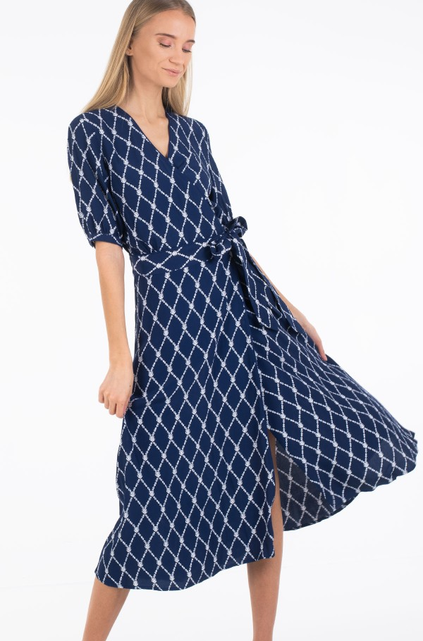 LEONORA WRAP DRESS SS