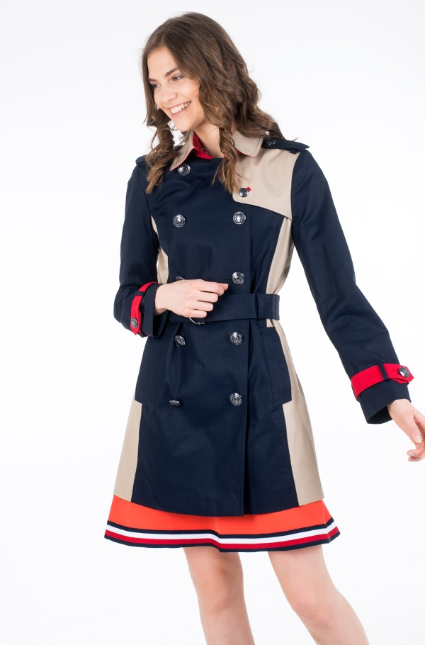 ICON COLOURBLOCK TRENCH