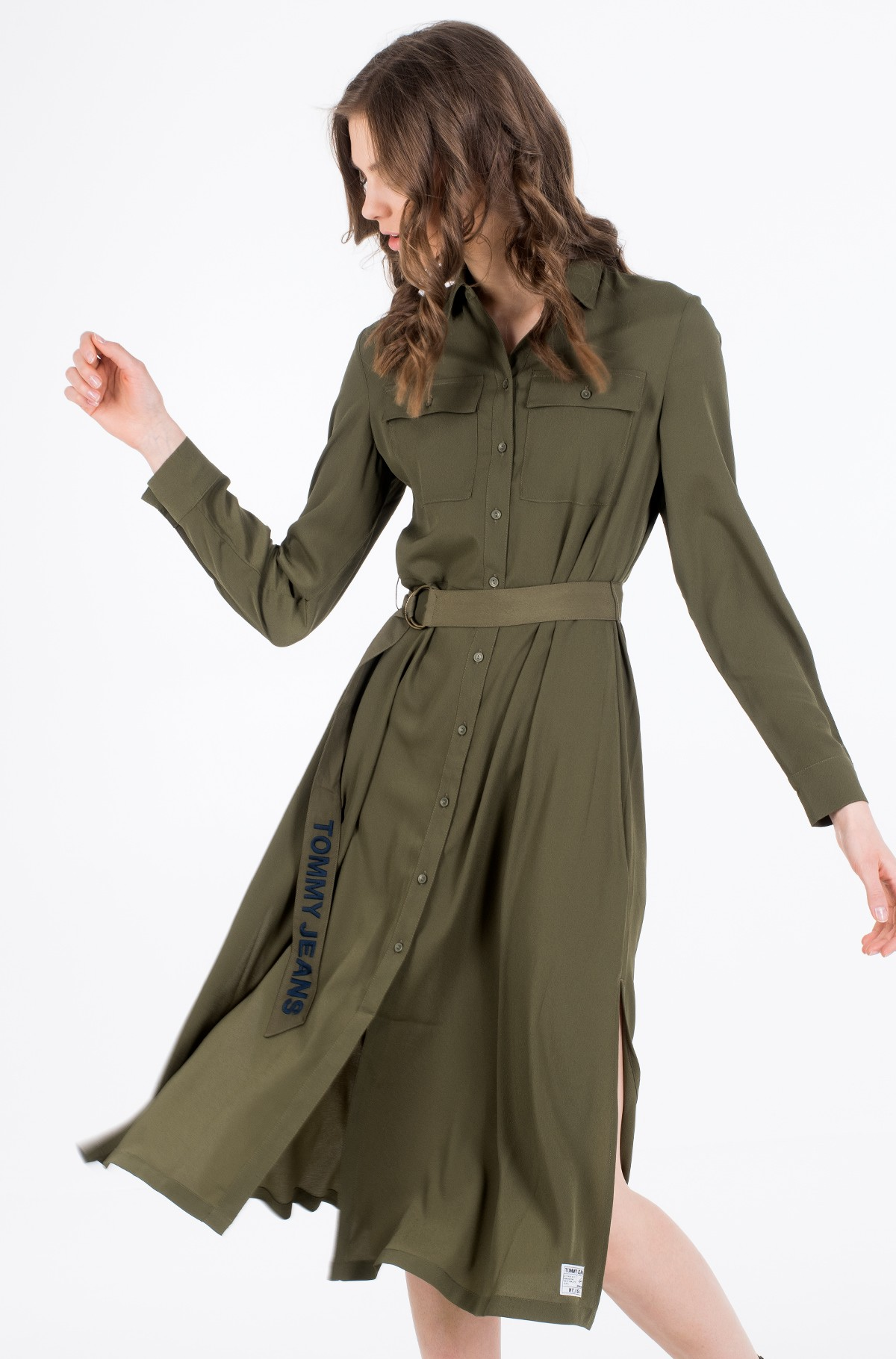 Suknelė TJW MIDI SHIRT DRESS-full-1