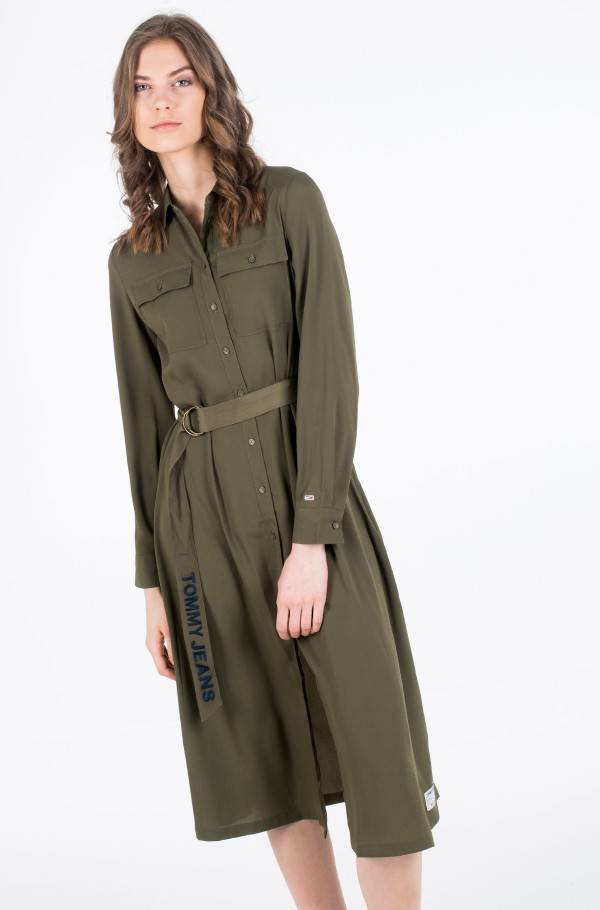 TJW MIDI SHIRT DRESS-hover