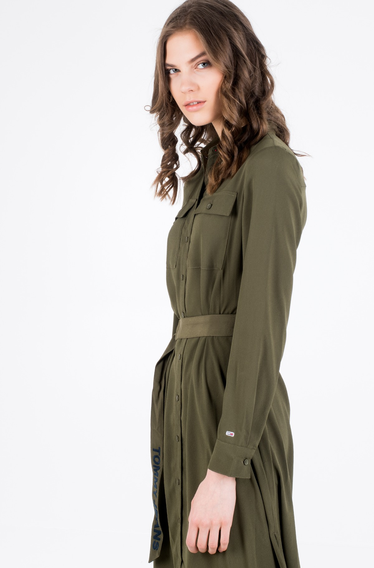 Suknelė TJW MIDI SHIRT DRESS-full-3