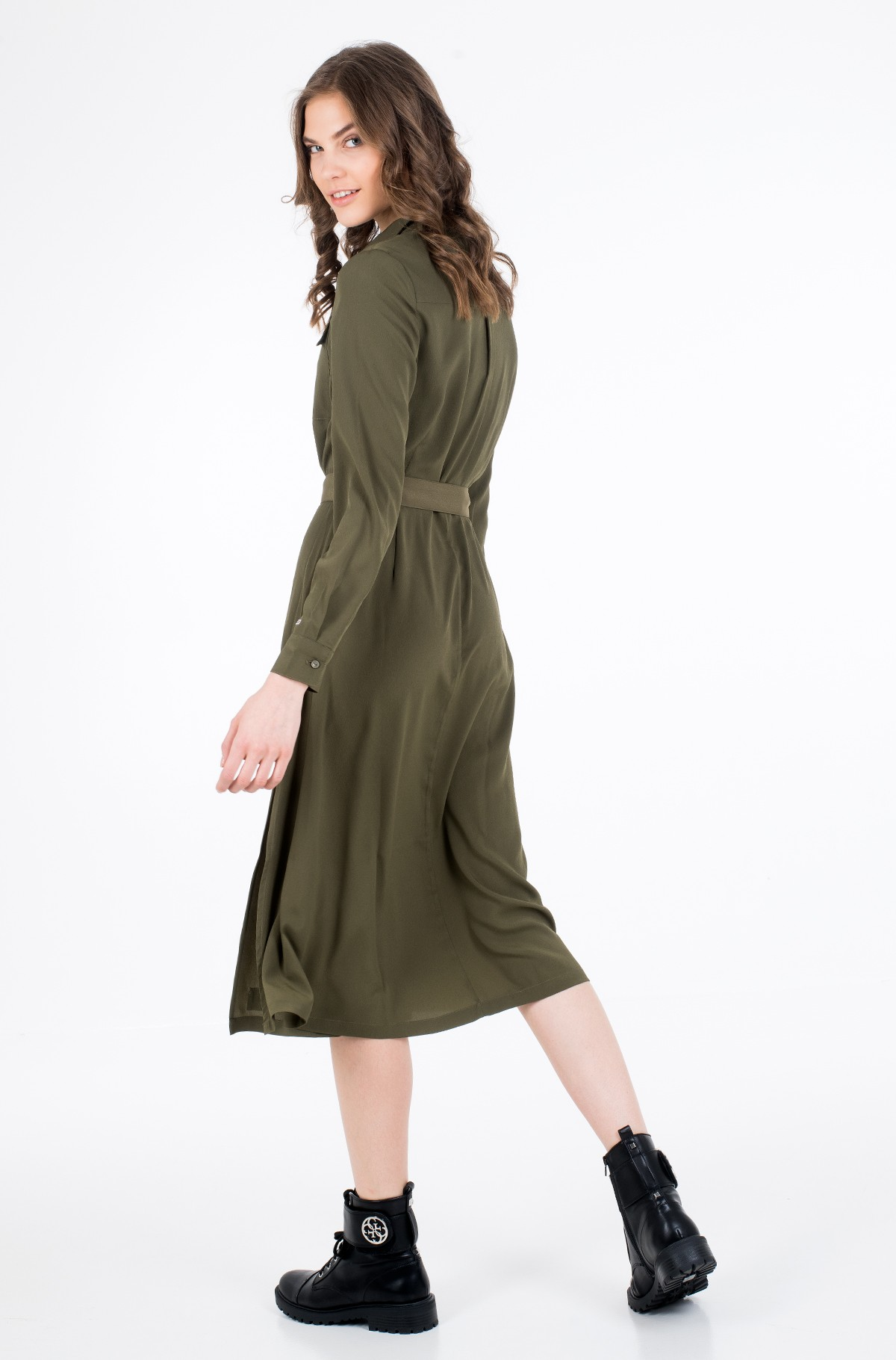 Suknelė TJW MIDI SHIRT DRESS-full-4
