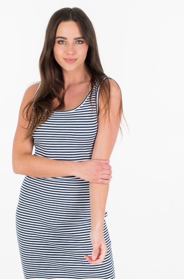 TJW RIB TANK BODYCON DRESS-hover